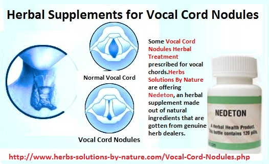 Vocal Cord Nodules Home Remedies